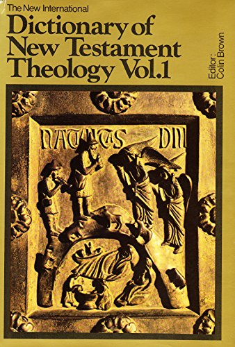 9780853644255: The New International Dictionary of New Testament Theology: v. 1