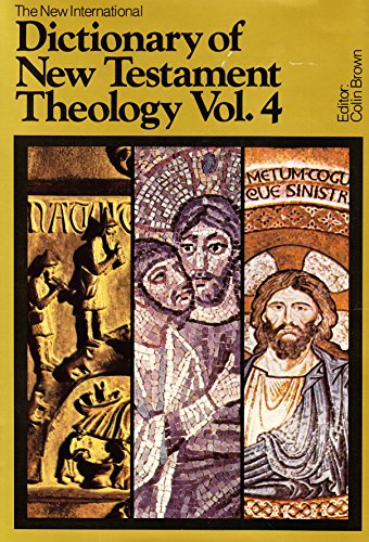 9780853644286: The New International Dictionary of New Testament Theology: Indexes v. 4