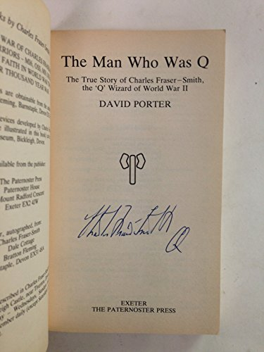 The man who was Q: David Porter