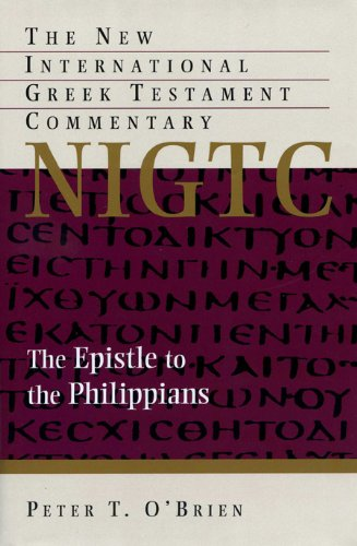 9780853645313: Epistle to the Philippians (NIGTC): A Commentary on the Greek Text