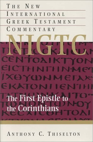 9780853645597: The First Epistle to the Corinthians: A Commentary on the Greek Text