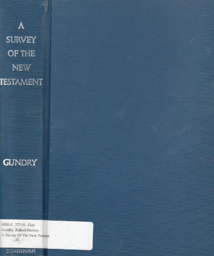 9780853646006: A Survey of the New Testament