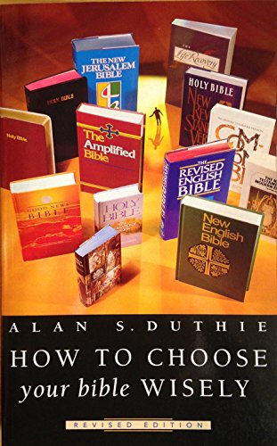 9780853646150: How to Choose Your Bible Wisely (Bible Students)