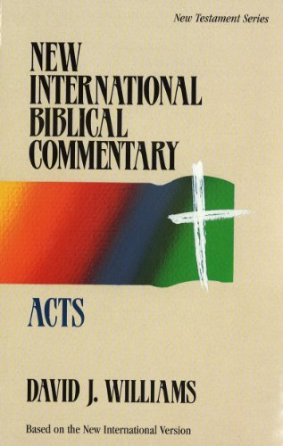 9780853646594: NEW INTERNATIONAL BIBLICAL COMMENTARY: ACTS