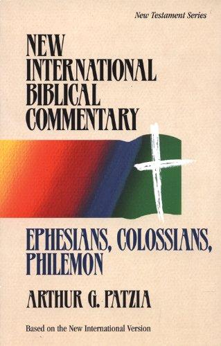 9780853646648: Ephesians, Colossians, Philemon (New International Biblical Commentary: New Testament)