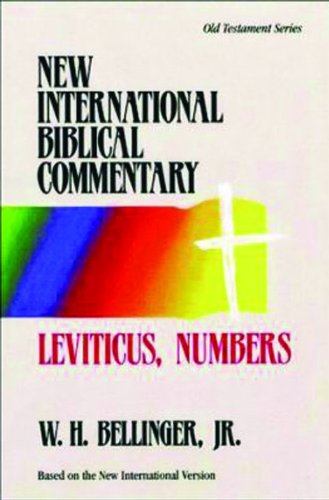 9780853647249: Leviticus, Numbers (New International Biblical Commentary Old Testament)