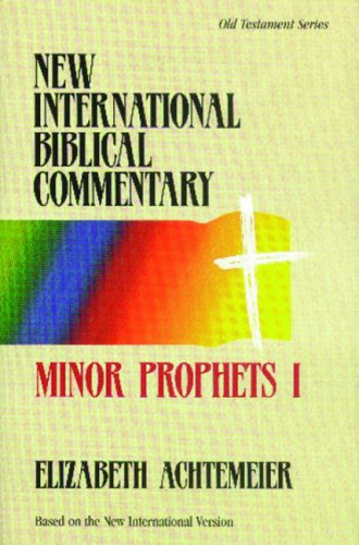 9780853648093: Minor Prophets I - New International Biblical Commentary