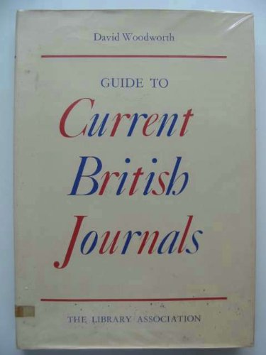 Guide to Current British Journals: n/a