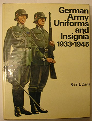 9780853680680: German Army Uniforms and Insignia, 1933-1945