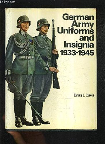 9780853681793: Colour Guide to German Army Uniforms, 1933-45