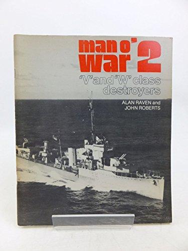 9780853682332: Man o' War: V.& W.Destroyers v. 2