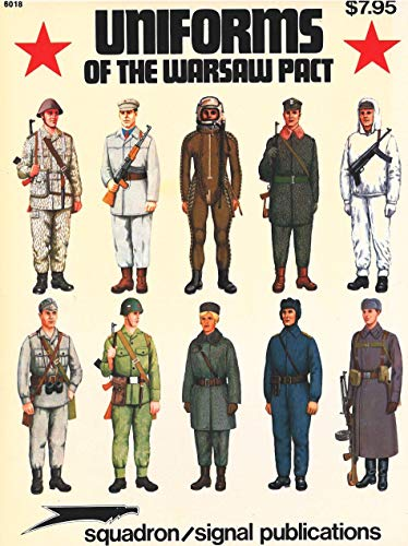 9780853682523: Army, Navy and Air Force Uniforms of the Warsaw Pact
