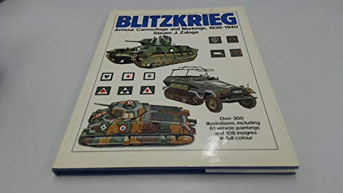9780853683346: Blitzkrieg: Armour, Camouflage and Markings, 1939-40