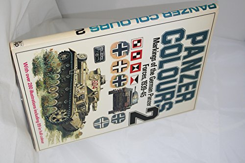 9780853684022: Panzer Colors, Vol. 2: Markings of the German Army Panzer Forces, 1939-45