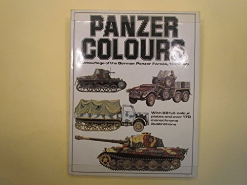9780853684503: Panzer Colors, Vol. 1: Camouflage of the German Panzer Forces, 1939-1945