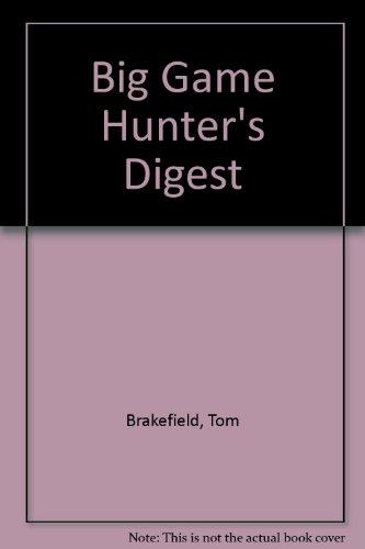 9780853684657: Big Game Hunter's Digest