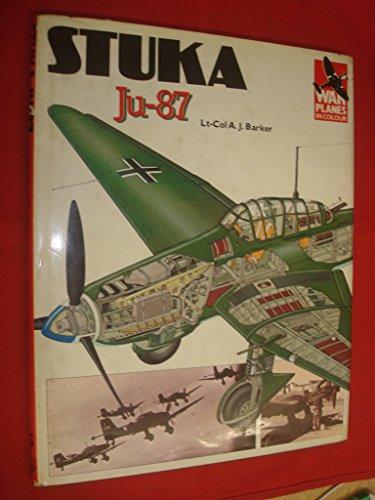 9780853684749: Stuka Ju.87 ([War planes in colour])