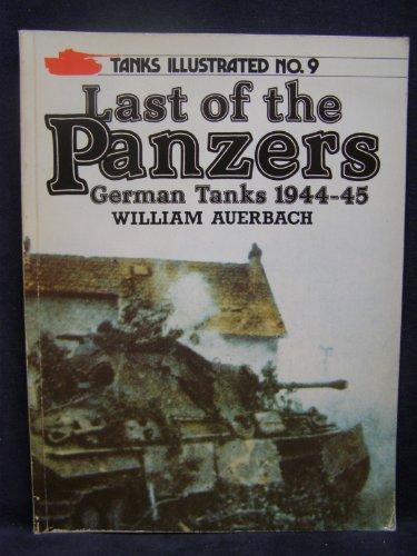 9780853686323: Last of the Panzers: German Tanks, 1944-45