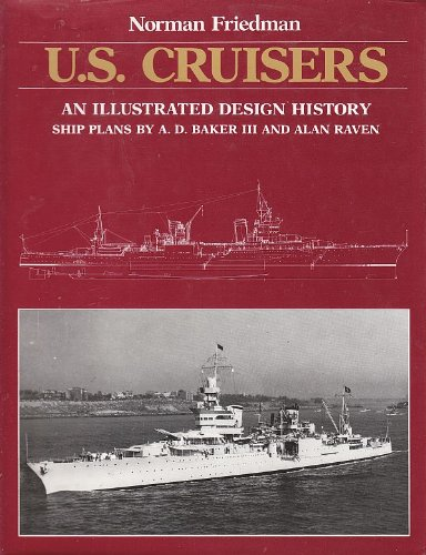 9780853686514: US Cruisers : An Illustrated Design History