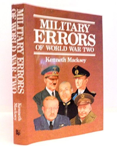 9780853688303: Military Errors of World War Two