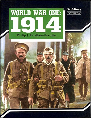 9780853689041: World War One: 1914 (Soldiers Fotofax)