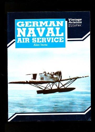 9780853689201: German Naval Air Service