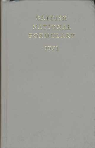 British National Formulary 1971