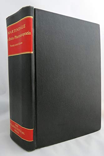MARTINDALE. The Extra Pharmacopoeia. Incorporating Squire's Companion. 26th Edition.: Blacow, ...