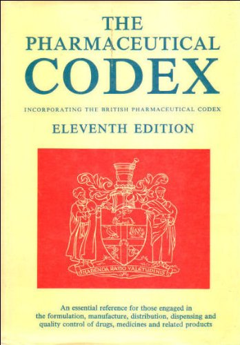 9780853691297: Pharmaceutical Codex: Incorporating the