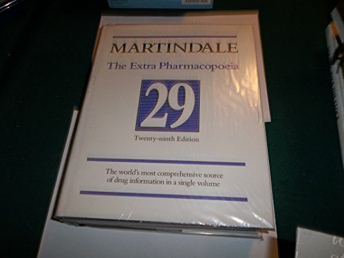 9780853692102: Martindale: The Extra Pharmacopoeia