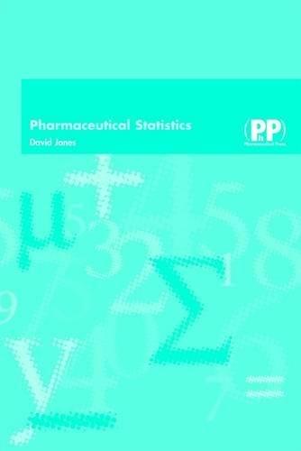 Pharmaceutical Statistics: David Jones