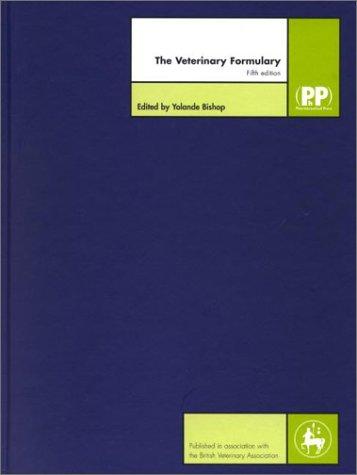 9780853694519: The Veterinary Formulary