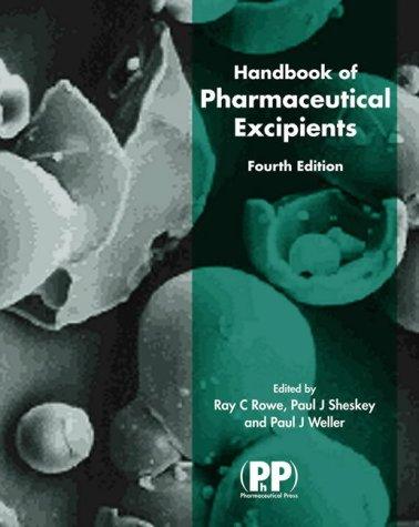 9780853694724: Handbook of Pharmaceutical Excipients