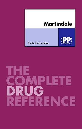 9780853694991: Martindale: The Complete Drug Reference