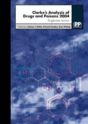 9780853695011: Clarkes Analysis Drugs & Poisons (CD-ROM)