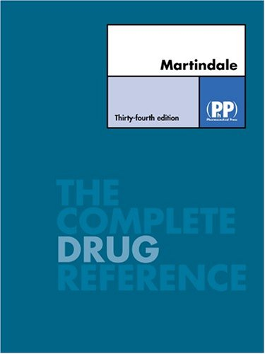9780853695509: Martindale: The Complete Drug Reference, 34th Edition