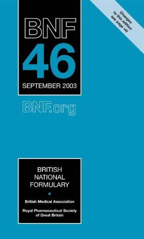 9780853695561: British National Formulary: 46