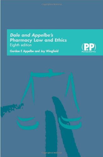 9780853696049: Dale and Appelbe's Pharmacy Law and Ethics