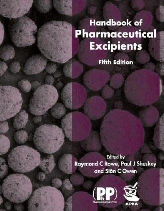 9780853696186: Handbook of Pharmaceutical Excipients