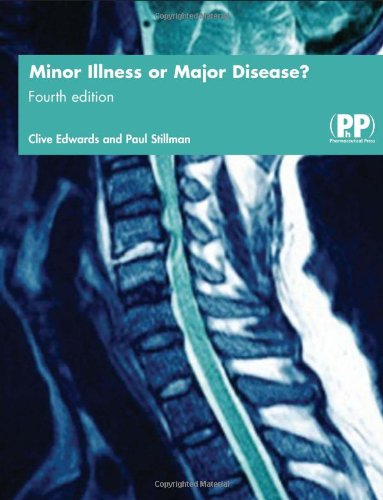 9780853696278: Minor Illness or Major Disease?: The Clinical Pharmacist in the Community