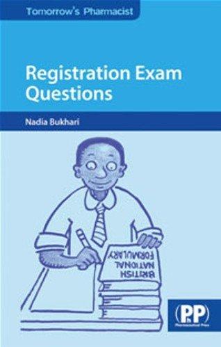 9780853696995: Registration Exam Questions (Tomorrow's Pharmacist)