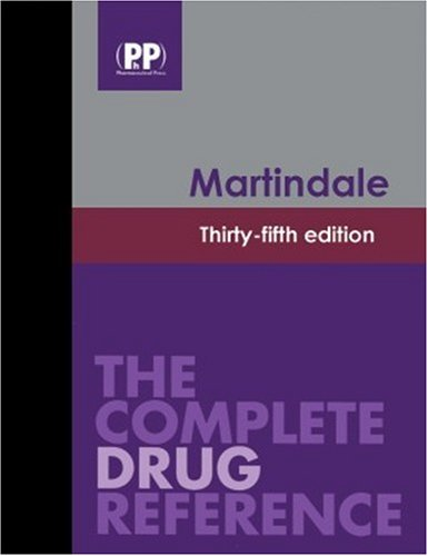 9780853697046: Martindale: The Complete Drug Reference, 35th Edition: Book and CD-ROM Package