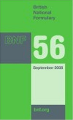 9780853697787: British National Formulary (BNF) 56 (v. 56)