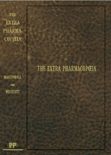 9780853698265: Martindale: The Extra Pharmacopoeia, 1st Edition Reproduction