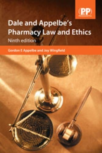 9780853698272: Dale and Appelbe's Pharmacy Law and Ethics, 9th Edition