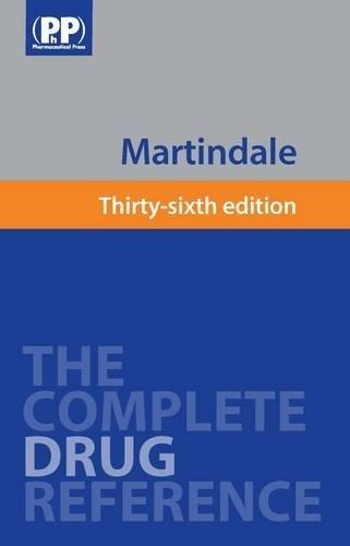 9780853698418: Martindale: The Complete Drug Reference 36 CD-ROM (Single User)