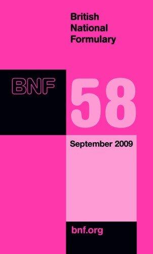 9780853698487: British National Formulary (BNF) 58