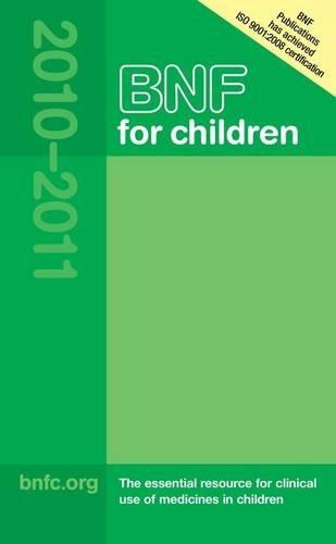 9780853699279: BNF for Children (BNFC) 2010-2011