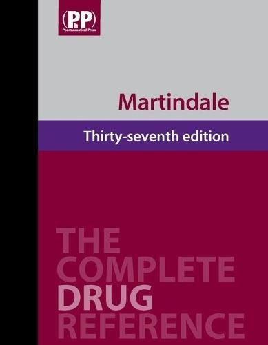 9780853699330: Martindale: The Complete Drug Reference, 37th Edition (Book + 1-Year Online Access Package)