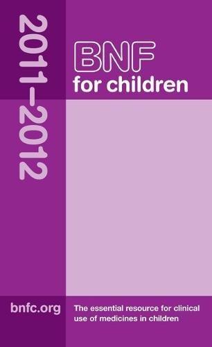9780853699590: BNF for Children (BNFC) 2011-2012